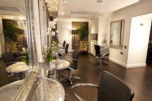 Brooks award-winning London hair salon, designed by SSG
