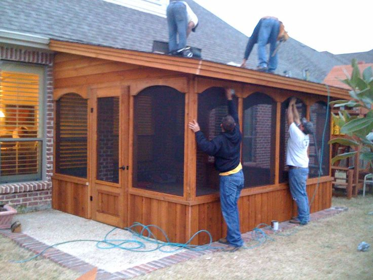 74 Best Deck With Screened In Porch Images On Pinterest