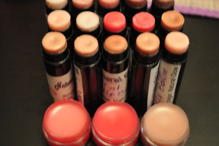 Winter lip balms