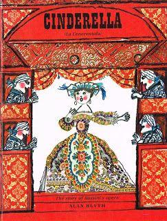 children's books illustrations: Cinderella, ill. Emanuele Luzzati, Julia MacRae B...