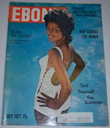 Ebony Magazine Cover 1951 | Ebony Magazine Harriet Marshal Suit Yourself For Summer July 1971 ...