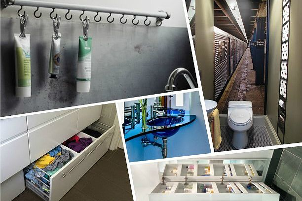 20 идей для маленькой ванной комнаты и туалета Секретные способы облегчить себе жизнь, найти вещам место и заодно удивить гостей