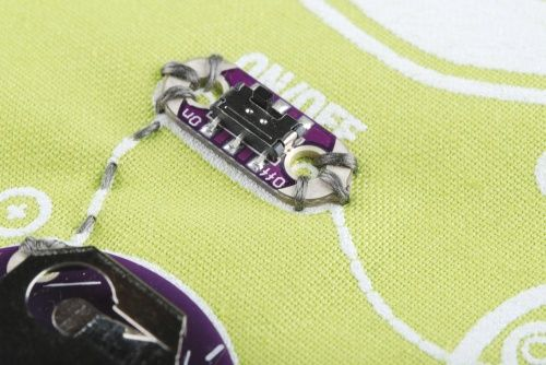 Sewing with Conductive Thread