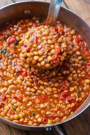 Vegetarisches Linsen-Chili