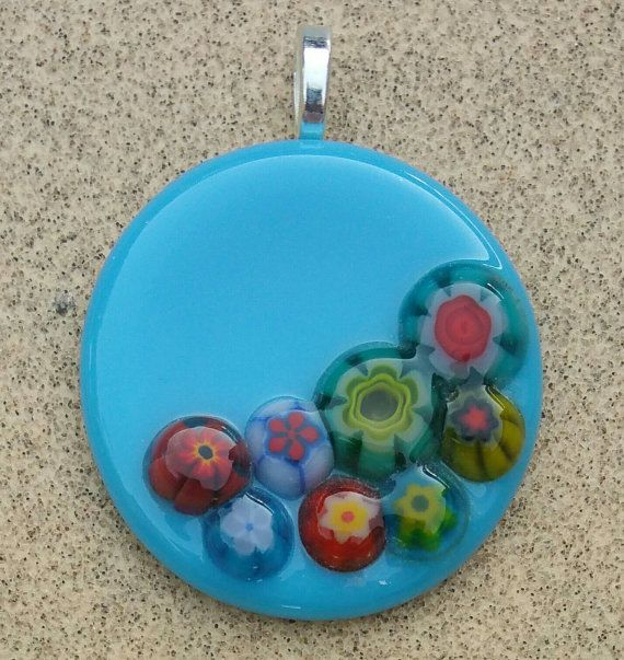 Check out this item in my Etsy shop https://www.etsy.com/listing/466484173/fused-glass-jewelry-pendant-blue-pendant