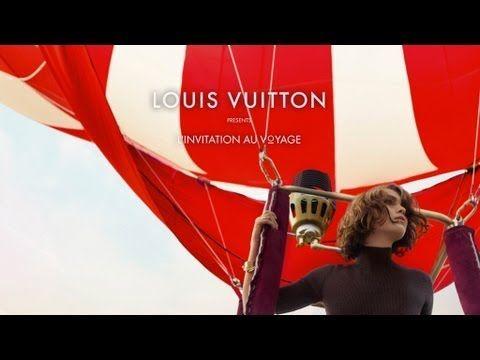 ▶ L'Invitation Au Voyage - The Louis Vuitton Advertising Campaign Film - YouTube