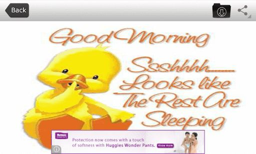 Hello!!! This application contains very sweet good morning messages and images. When you download the application you will get many good morning greeting cards to send your mates every day. Whenever you wake up in the morning you may be interested to send a very good good morning wishes to your friends and relatives to keep them happy. We have good morning quotes and messages for you free of cost. <p>Now have a look on this application functionality :<p>1) Most important is internet…