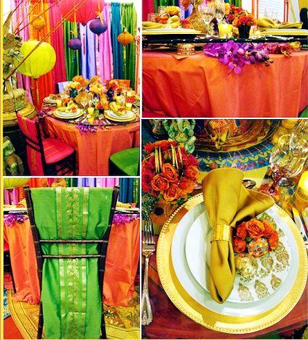 colorful wedding Bollywood wedding Indian Wedding  LOVE