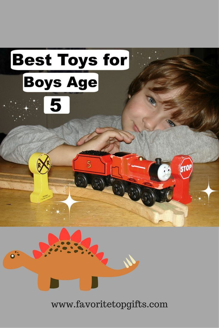 Find the top toys for boys 5 years old!