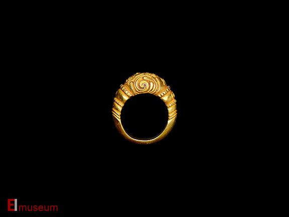 Ancient Gold Ring - East Indies Museum