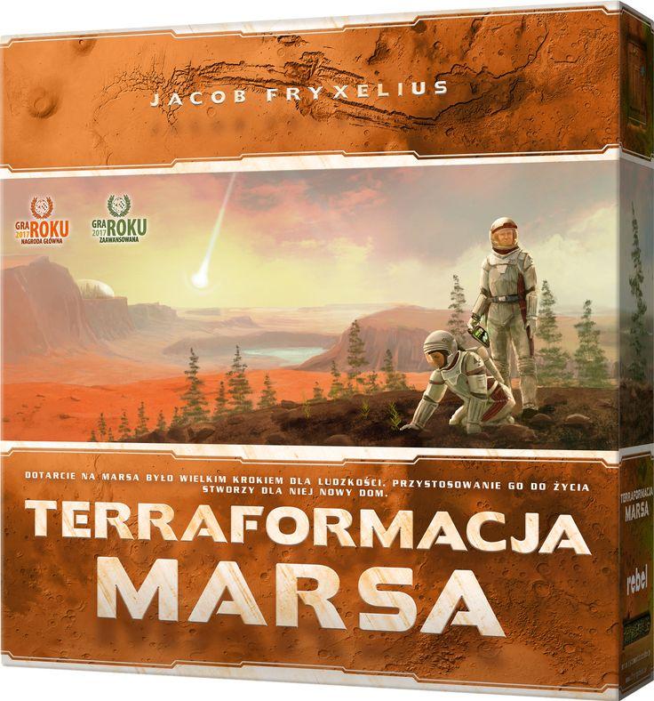 Zmień Marsa w planetę zdatną do życia!; 5 msc wg BBG 1-5 osób, od 12 lat, 90-120 minut