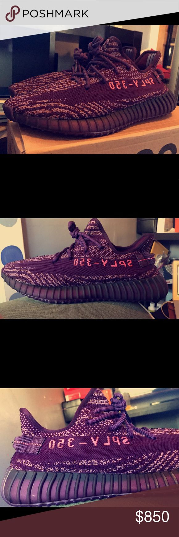 "EXCLUSIVE PRE-DROP ""Red Night"" Yeezy V2 Boost. -Size 11 US Men's  -DEADSTOCK OG Everything  -Got some of the new ""Red Night"" V2 350 Yeezy Boosts  Even more amazing in person, pics don't do it justice. Please no negativity  on my page, all love! ?'s txt (480) 808-9979 Yeezy Shoes Sneakers"