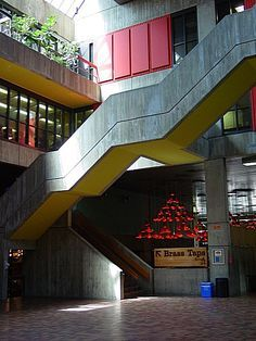 the UC staircase, University of Guelph