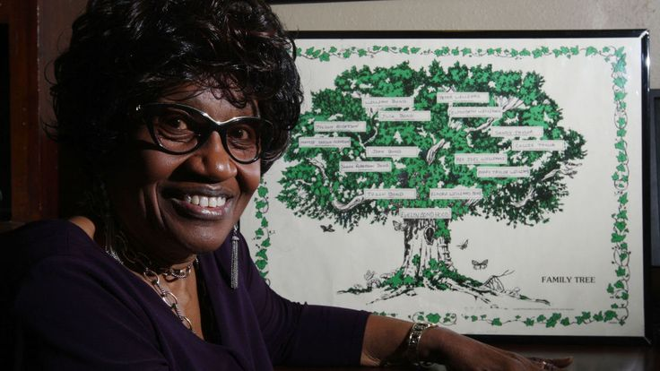 DECATUR — Evelyn Hood stared out the window in her office at the African-American Cultural & Genealogical Society of Illinois Museum, then laughed. #genealogy