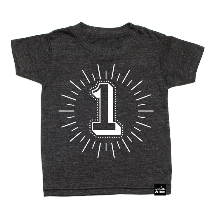 Milestone Number T-Shirt from Whistle