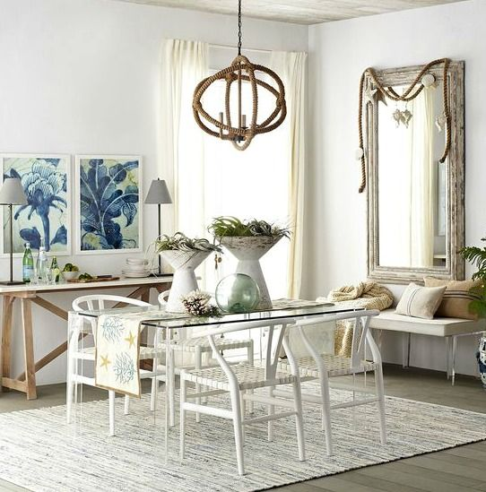 47 Calm And Airy Rustic Dining Room Designs: 133 Best Coastal Kitchen Ideas Images On Pinterest