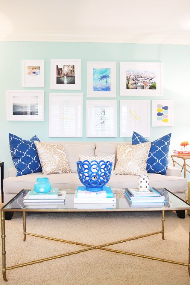Best 25+ Aqua Living Rooms Ideas On Pinterest | Coastal Inspired Curtains,  Teal Bathroom Paint And Living Room Color Combination Part 72