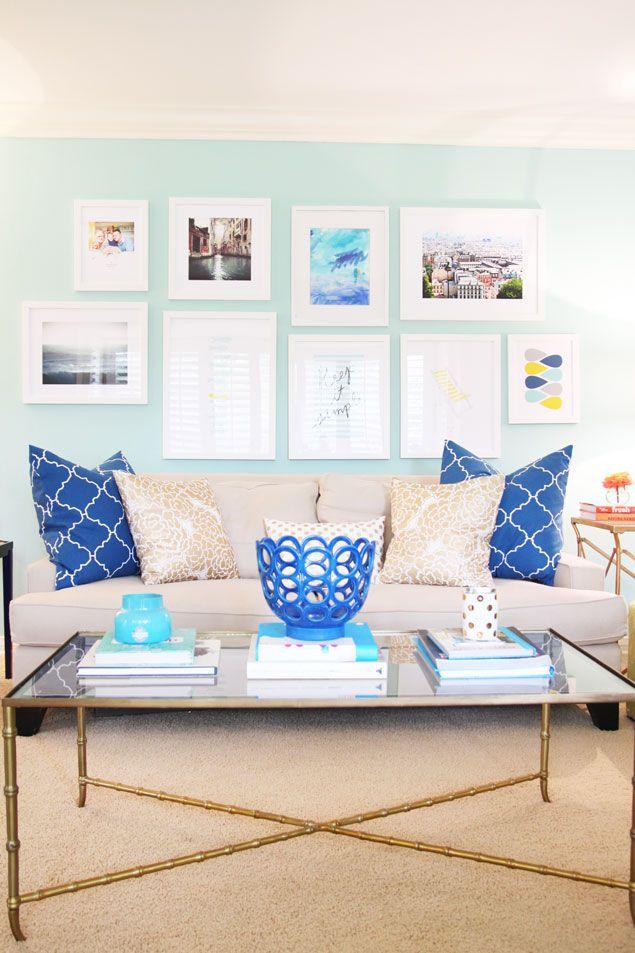 25 best Aqua Living Rooms ideas on Pinterest Living room