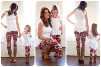Mommy Mocking Jay Leggings - Ryleigh Rue Clothing by MVB