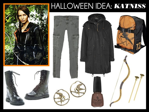 Katniss costume would be easy to do, but there will probably be a lot of them running around lol
