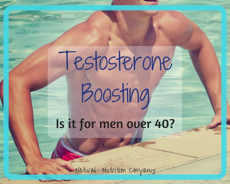 Testosterone boosting? Only for men over 40? For as long as I can remember, I was always amazed at the …