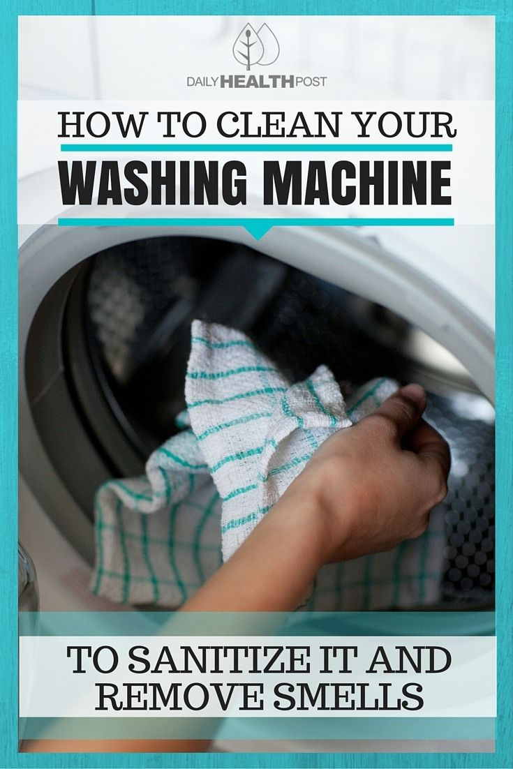 How To Wash Your Machine To Sanitize It And Remove Smells WITHOUT Any Harsh…