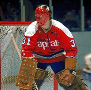 Michel Belhumeur / Washington Capitals (He never won a game for the Washington Laughables!)
