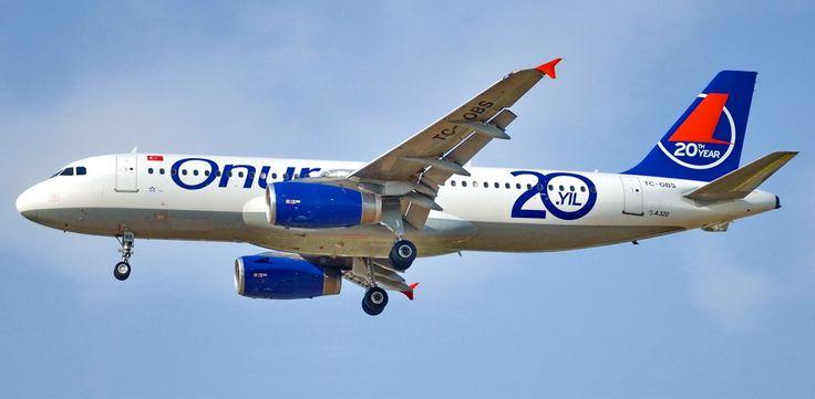 Onur Air Airbus A320-232