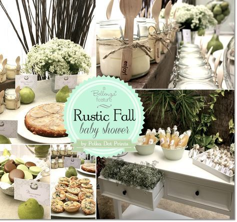 Wonderful A Gorgeous Rustic Fall Baby Shower With A Perfect Pair Theme