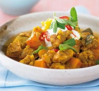 Tasty chicken and pumpkin stew | Healthy Food Guide