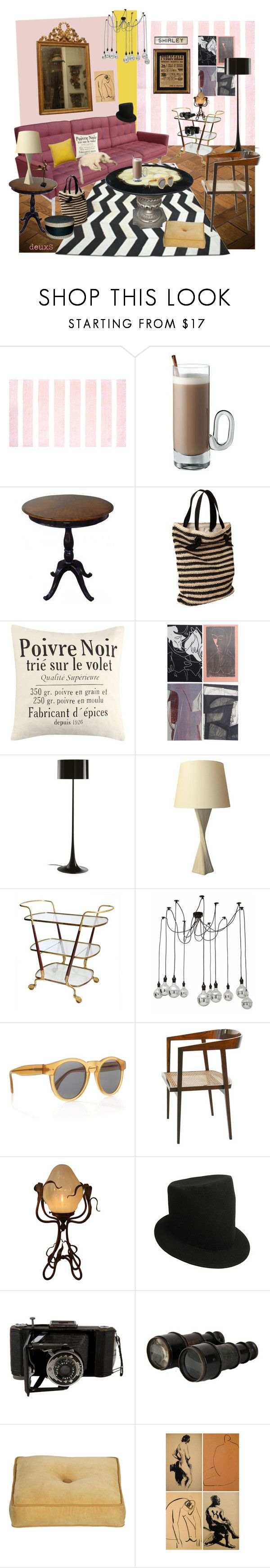 """Teeth"" by deuxs ❤ liked on Polyvore featuring interior, interiors, interior design, home, home decor, interior decorating, Shabby Chic, Pappelina, MCM and Lancaster"