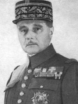 Maurice Gamelin, French Army, General d'Armee