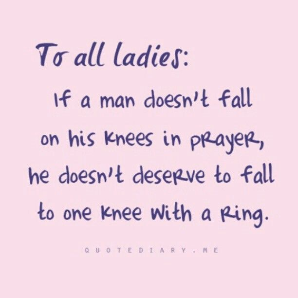 For all ladies