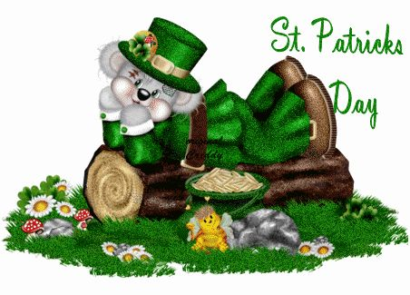 animated gif st patricks day e cards | St Patrick's Day Scraps, Comments, St Patrick's Day Glitter Graphics