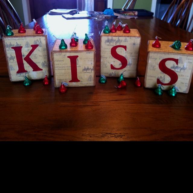 85 best 4x4 blocks images on pinterest diy christmas for Decoration 4x4