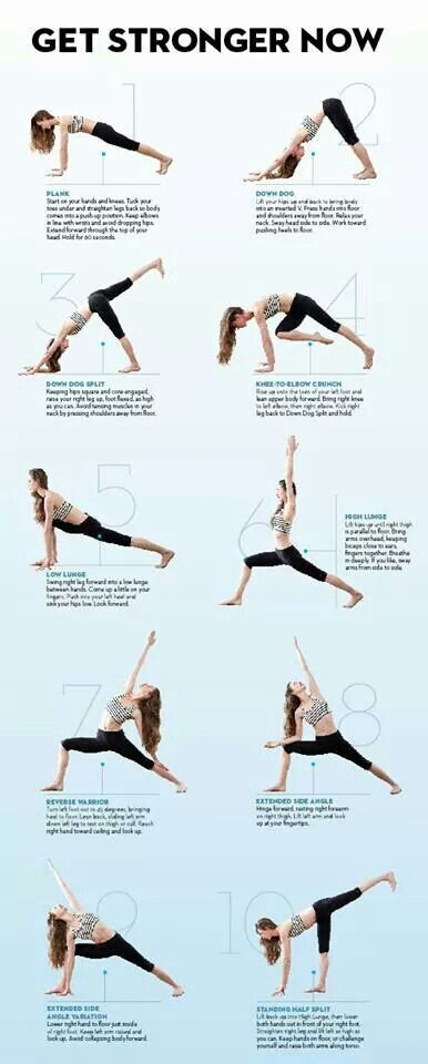 Yoga moves to make you strong