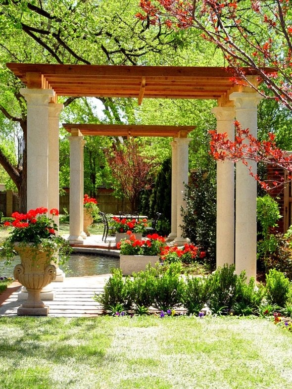 71 best mediterranean pergolas images on pinterest. Black Bedroom Furniture Sets. Home Design Ideas