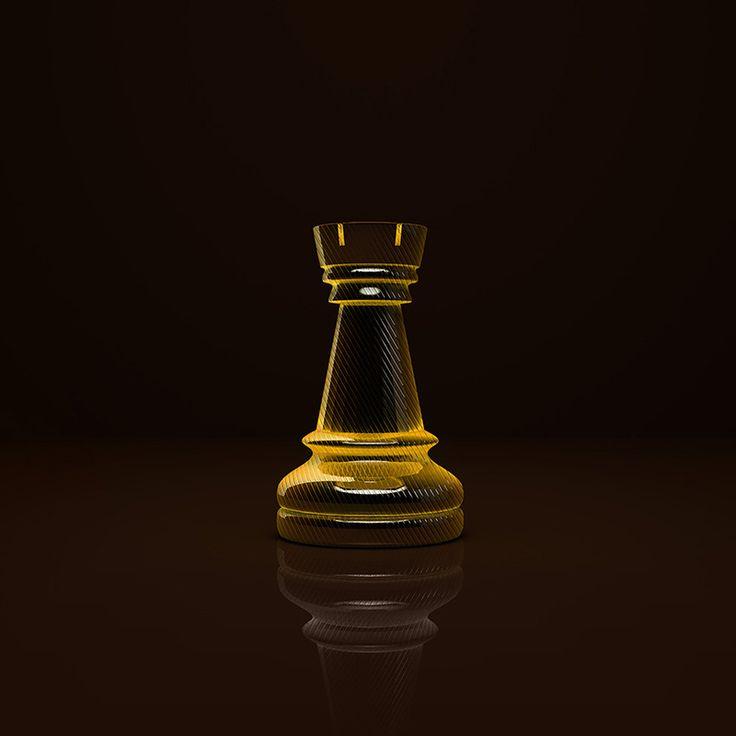 #TheGlassRook #PremiumChess #art #illustration #3Dartwork #3Ddesign #chess #LikeableDesign #chesspieces #chessart ♕ ♔ ♖ ♗ ♘ ♙