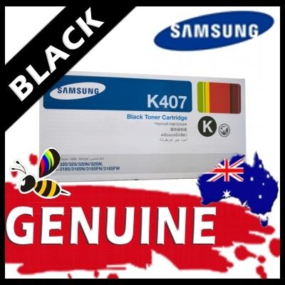 Samsung CLTK407S Black Toner Cartridge