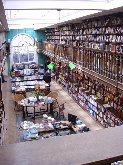 Daunt Bookshop, Thayer St, Marylebone - one of the amazing booking shop in London