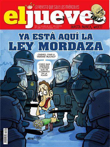 La revista El Jueves en digital · eljueves.es