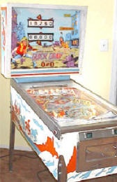 Vintage Pinball machines for sale, classic pinball game restoration and classic pinball games and more....