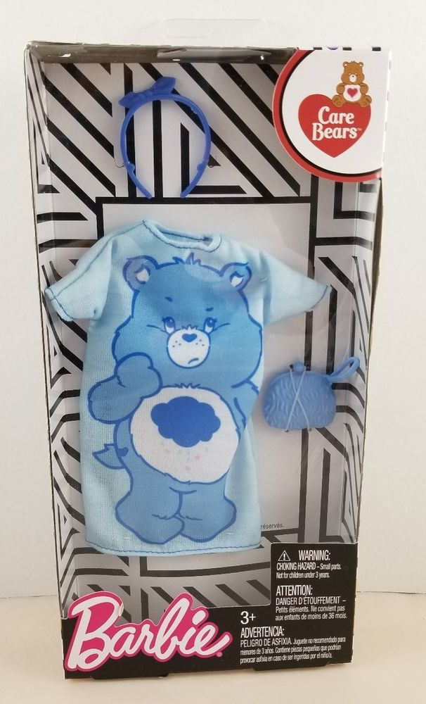 Blue One Shoulder Top NEW Barbie Care Bears Fashion Doll Outfit