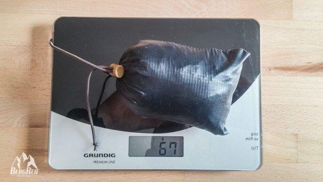Regenkilt DIY Gewicht Packmaß