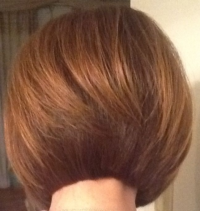 Very blunt yet, layered and texturized bob #@ mePatriciaFranklin# all rites reserved!