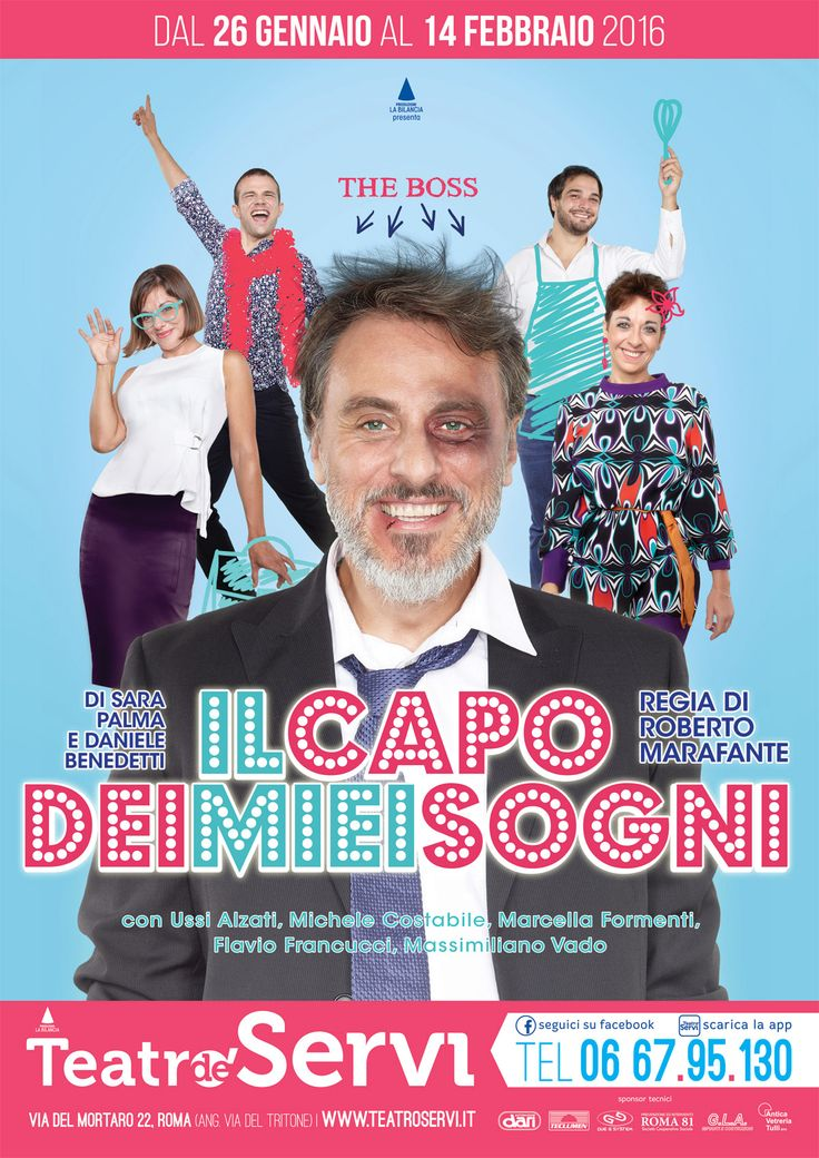 Theater Poster Design #segnalacommedie #commedieitaliane