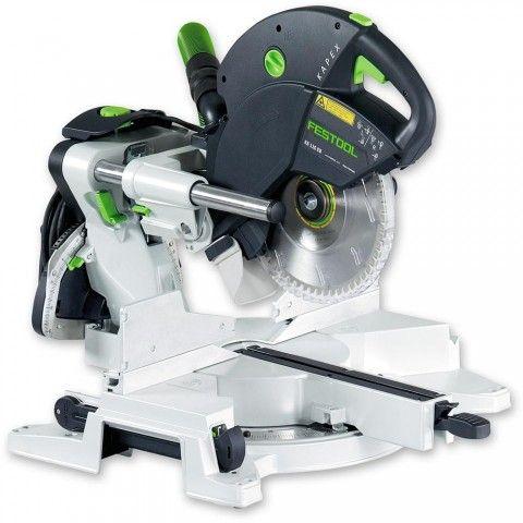 Festool KAPEX KS 120 EB Compound Slide Mitre Saw - Mitre Saws - Saws - Power Tools | Axminster.co.uk