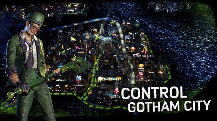 Batman: Arkham Underworld, juego gratis para iOS en el cual tienen que convertirse en el villano más temido