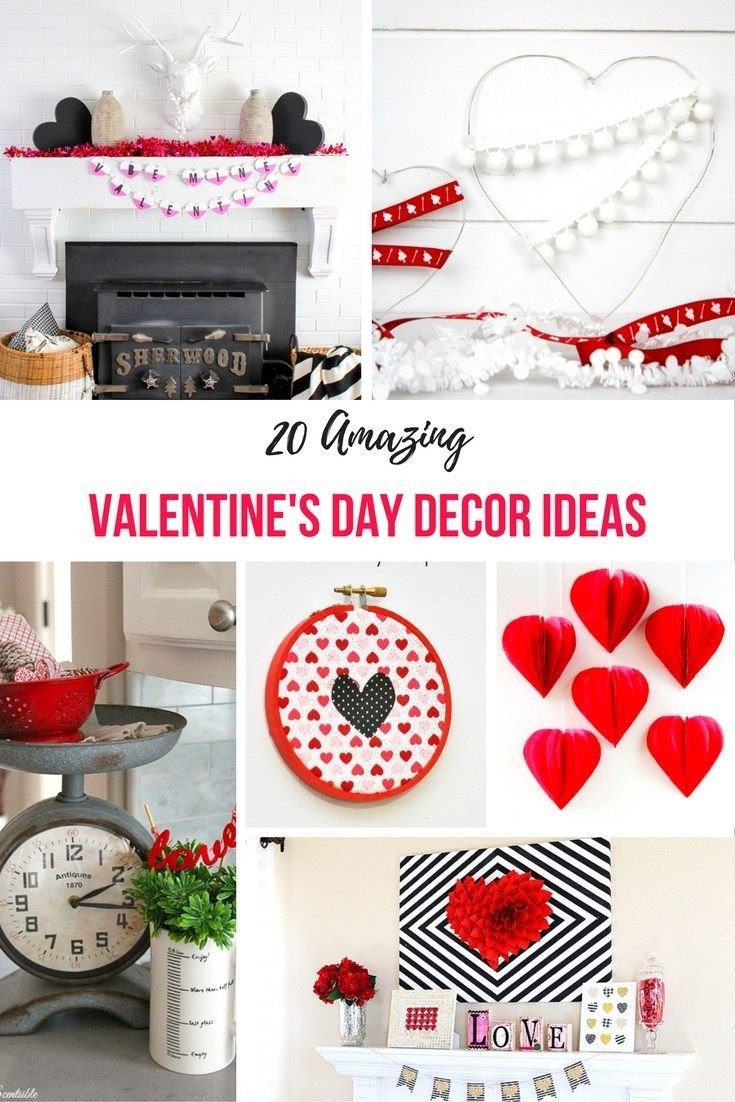 530 best Holiday Home Decor Valentine's Day Crafts images ...