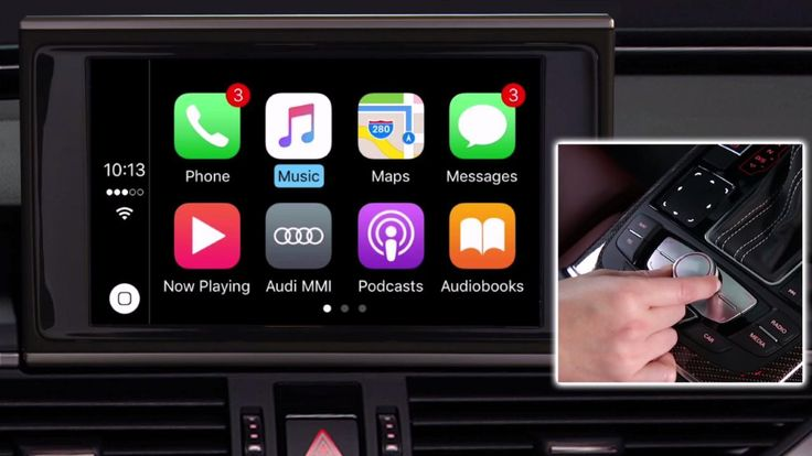 Standalone Apple CarPlay interface kit for Audi cars with 3G/3G+/MIB MMI (Android Auto support to come*)
